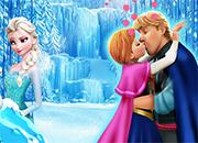 Anna And Kristoff Kiss (mas besos) juego