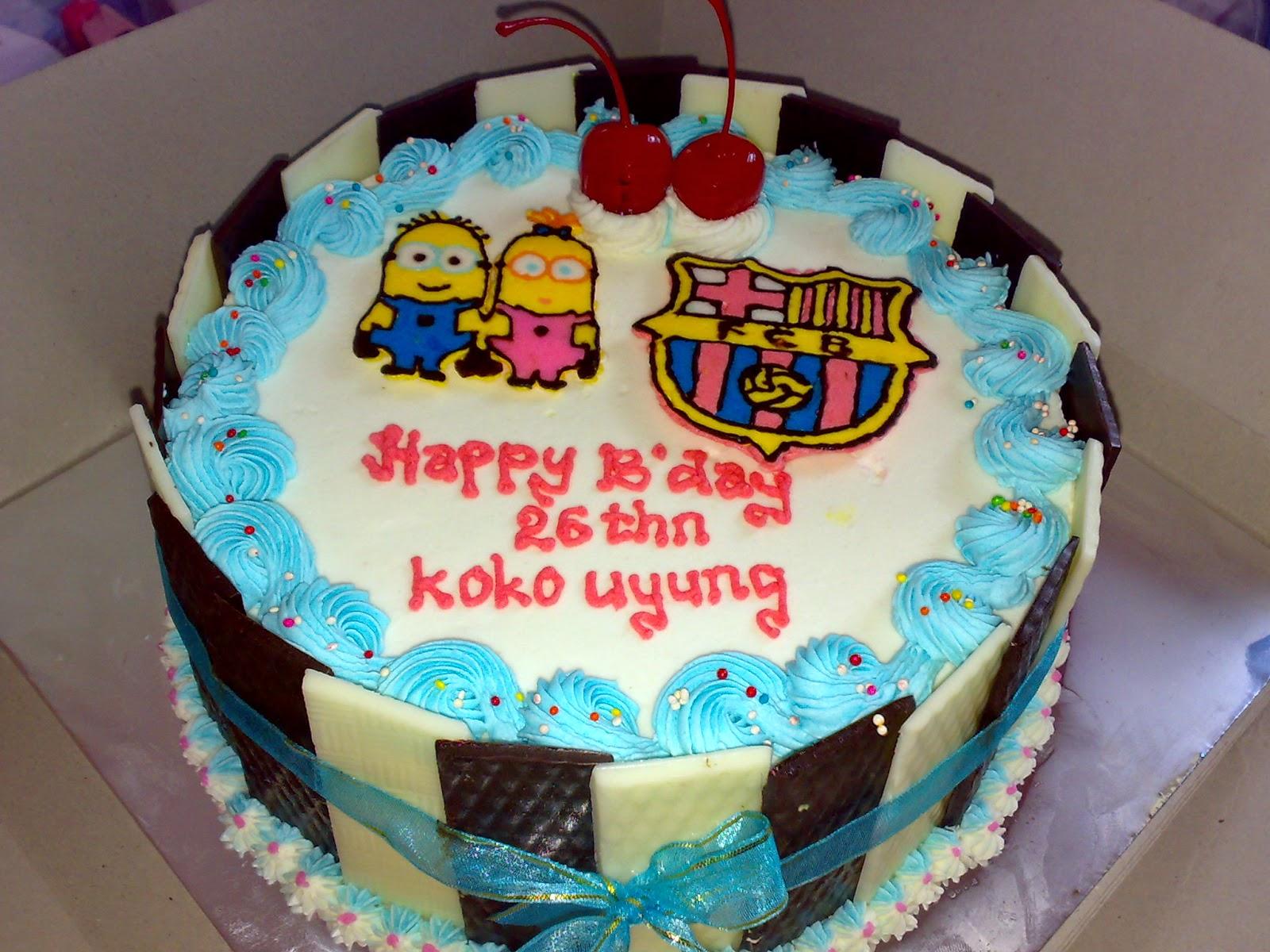 Cake Logo Club Bola