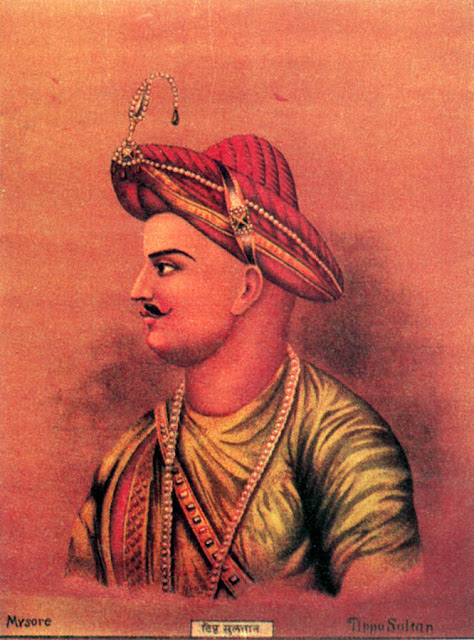 Tipu Sultan popularly known as the tiger of Mysore