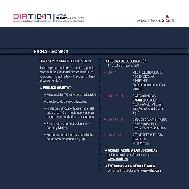DiaTIC 2017 - Jornadas SMARTeDUCACIÓN