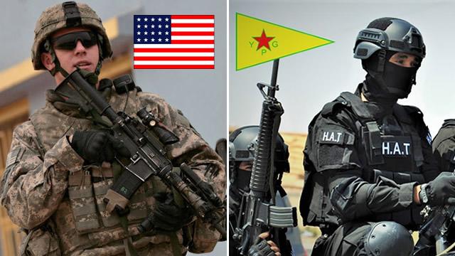 ABD ve YPG den hava indirme operasyonu 4 IŞİD Emiri sağ yakalandı