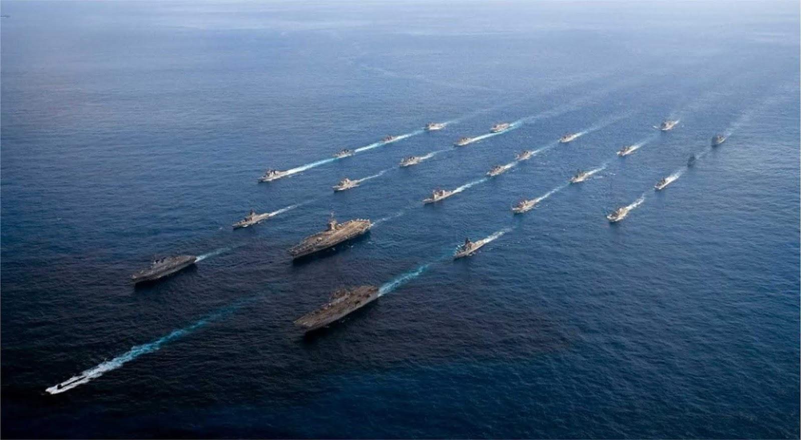 AS dan Jepang melakukan latihan terbesar di Pasifik di tengah ketegangan dengan China