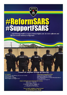 News: Nigeria Police launches new movement to reform SARS