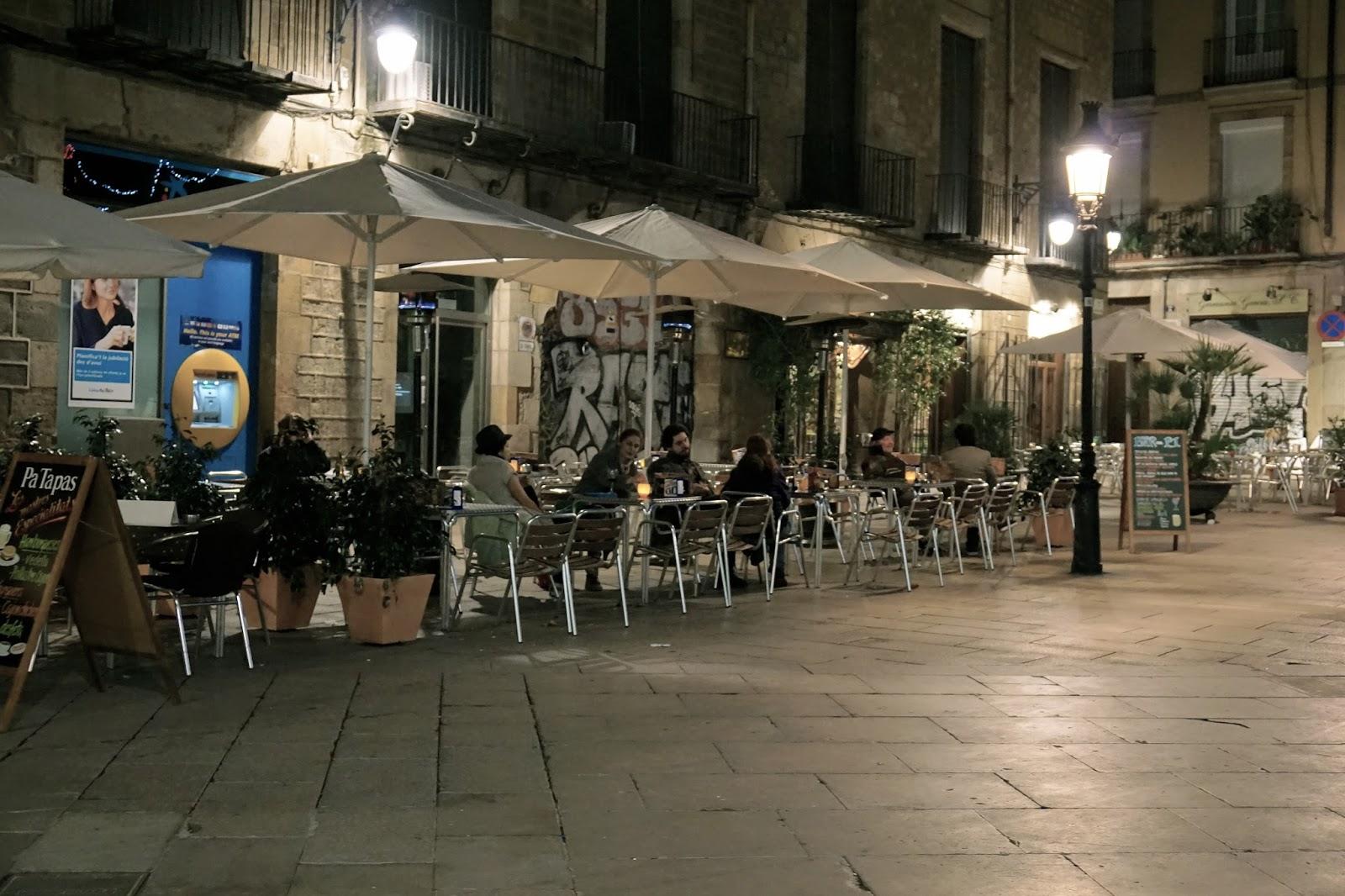サン・ジョセップ・オリオール広場(Plaça de Sant Josep Oriol)