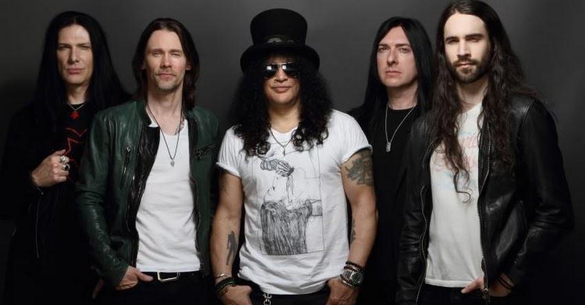 SLASH EN PERÚ 2019: Guitarrista de Guns N' Roses regresa a Lima el 7 de Mayo para Concierto en el Arena Costa Verde [VENTA DE ENTRADAS] www.teleticket.com.pe