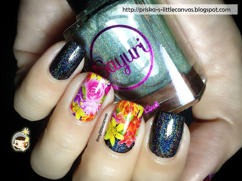 Holotastic Top Coat by Sayuri Nail Lacquer