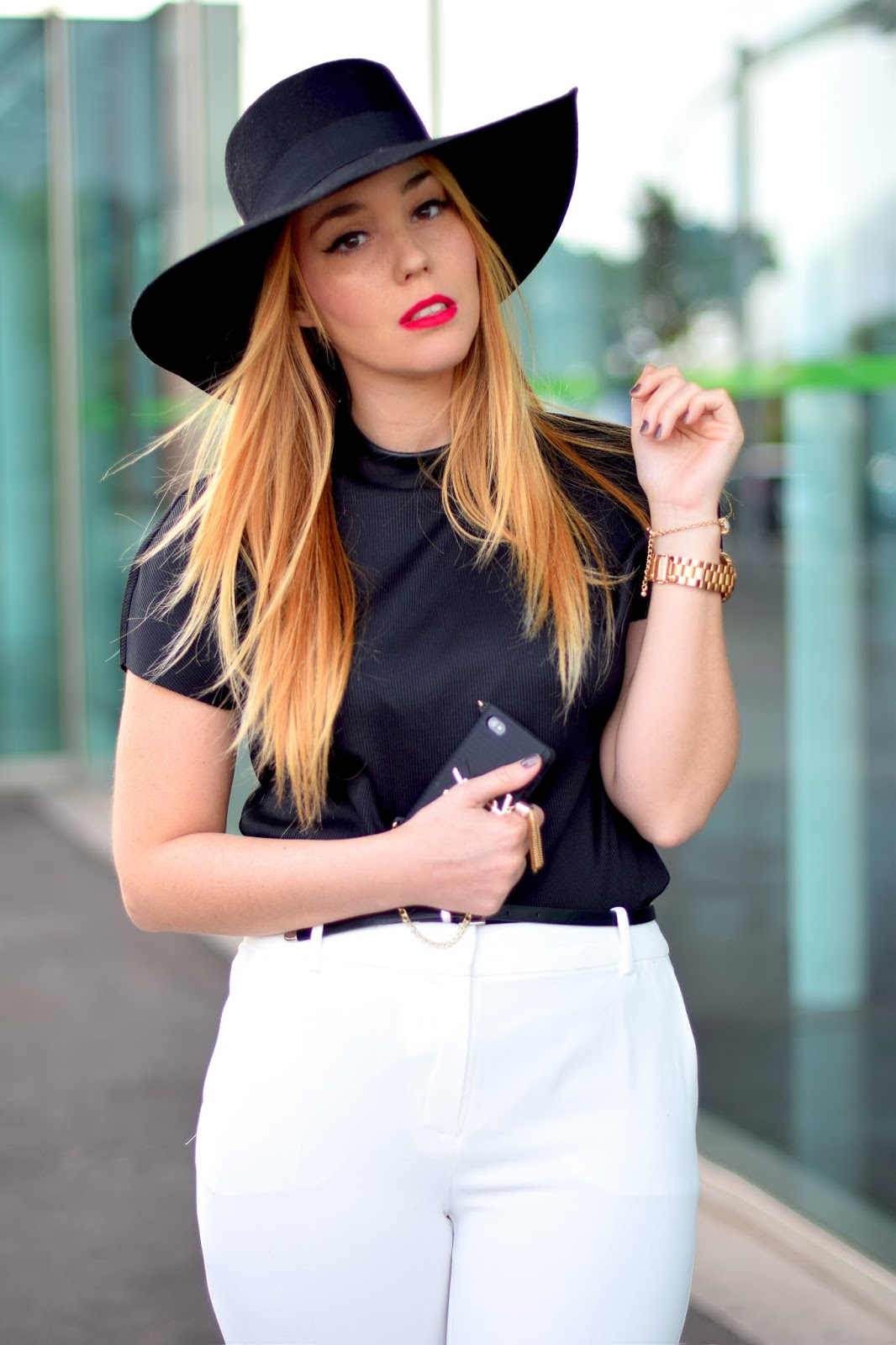 nery hdez, ysl iphone cover, les petits boutique, hat , black & white