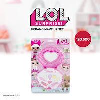 Dusdusan LOL Surprise Kerang Make Up Set (Set of 6) ANDHIMIND