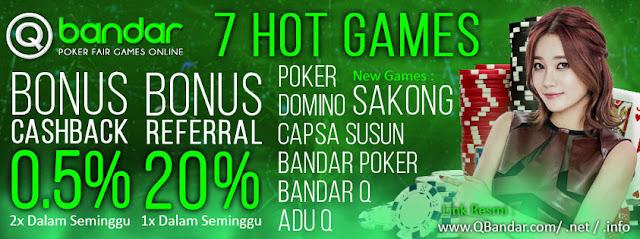 Agen Sakong Judi Remi9 Bandar Poker Online Terpercaya QBANDAR