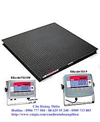 cân sàn điện tử 2 tấn t31p ohuas
