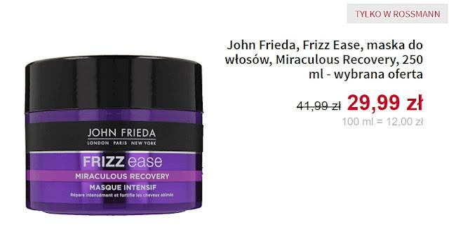 John Frieda - Maska do włosów