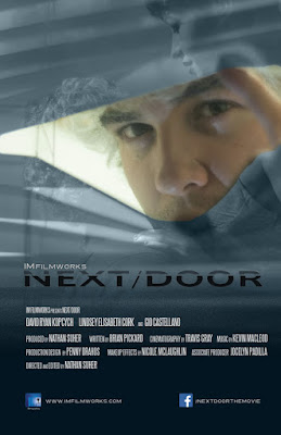 Theatrical poster for Nathan Suher's NEXT/DOOR (2015)
