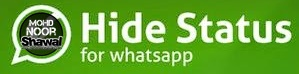 Tutorial : Block/Hide WhatsApp Status To Specific Contacts