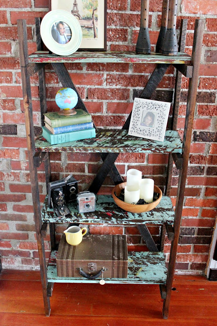 Rustic, Chippy Shelves