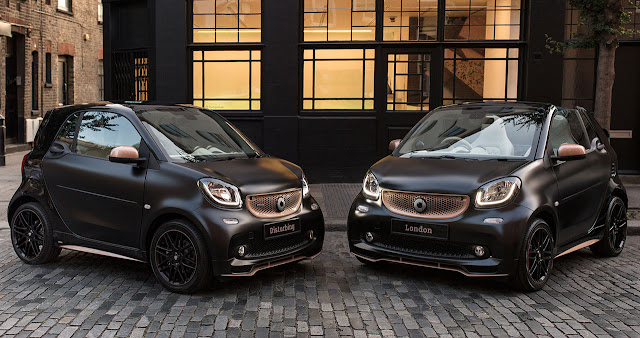 smart launches new special edition BRABUS
