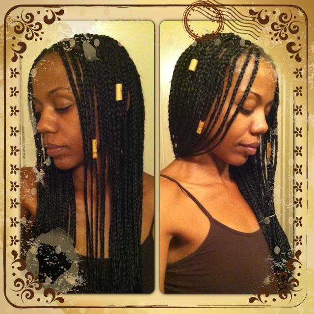 Phenomenal Luv My Kynxx Protective Stylin39 With Box Braids Short Hairstyles Gunalazisus