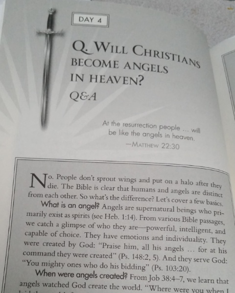 Angels among us sample page 1