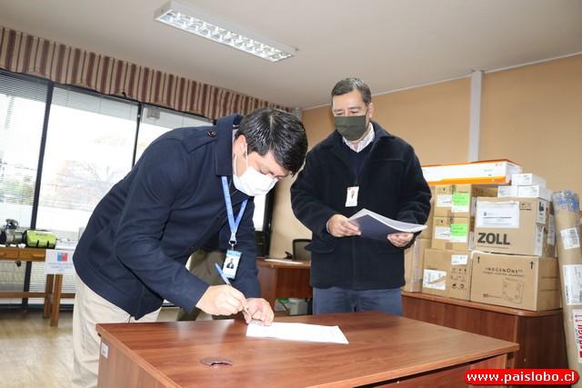 SSO refuerza hospitalización domiciliaria con entrega de equipos a salud municipal