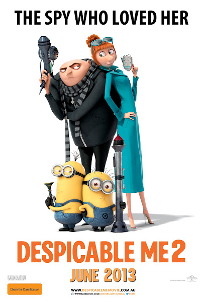 Poster of Despicable Me 2 (2013) Hind 720p BRRip Dual Audio Full Movie Download