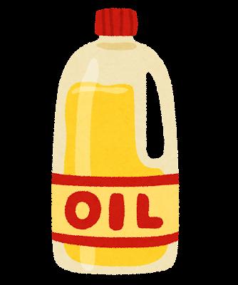 料理用油・サラダ油のイラスト
