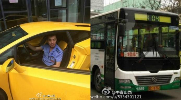 Gokil, Sopir Bus Ini Punya Lamborghini Gallardo! Ternyata..