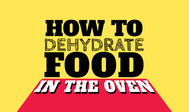 How To Dehydrate Food In The Toaster Oven