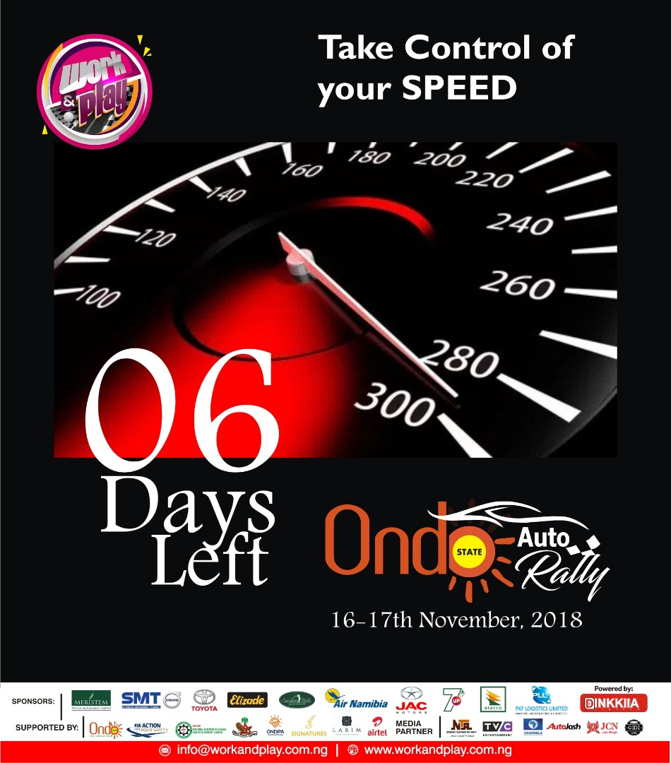 Ondo State Hosts Auto Rally 2018 And Its With A Bang!