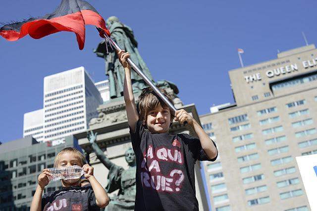 Manifestation du 22 août, Montréal [photos David Champagne]