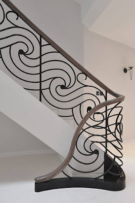 modern stair railing ideas iron safety grill design for staircase