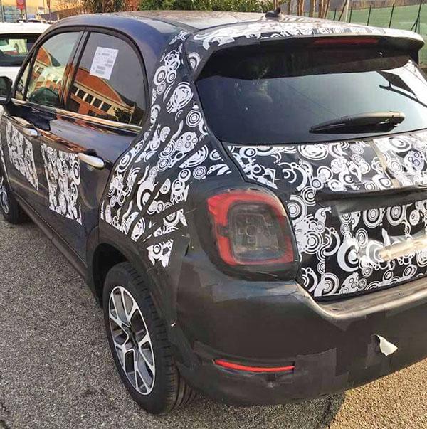 Burlappcar 2019 Fiat 500x