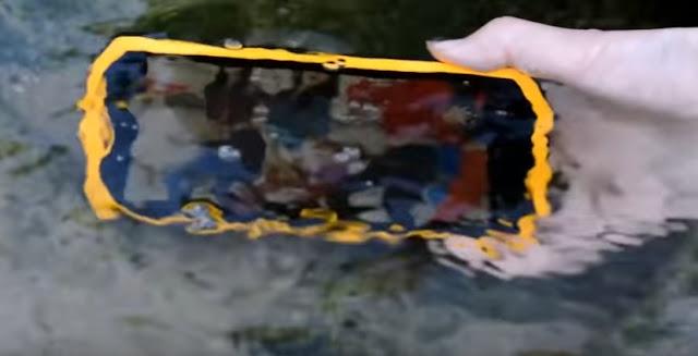 هاتف لا يحترق لا يغرق لا يكسر | مع بطارية خارقة 4500mph ! Vphone M3