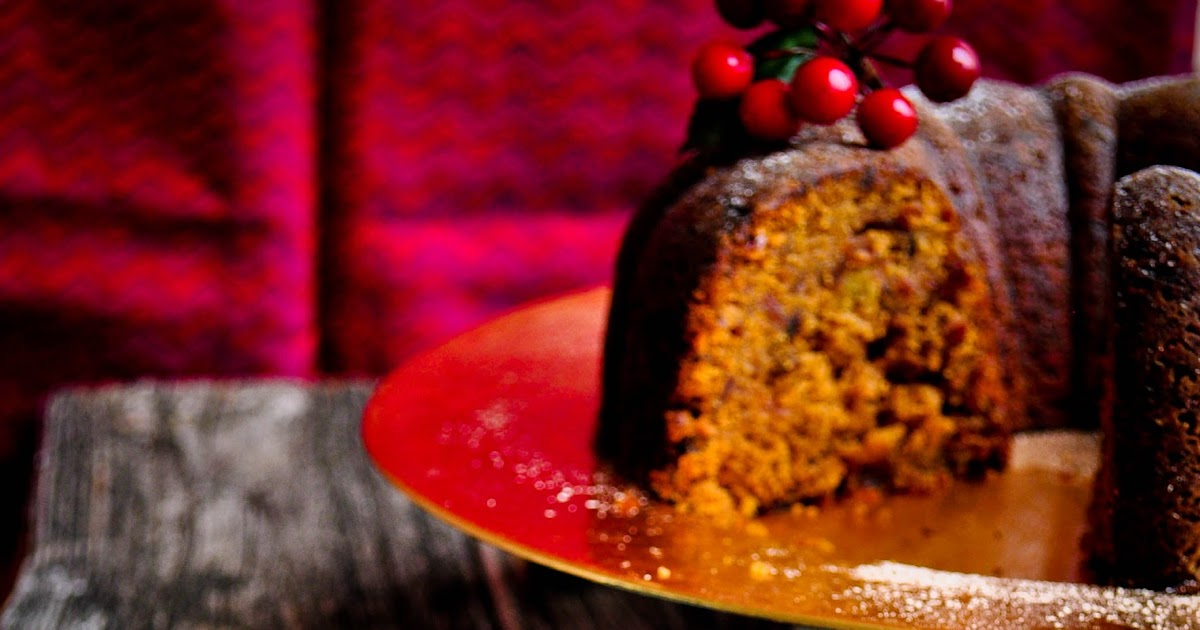 Rum Plum Cake With Rum Glaze Recipe