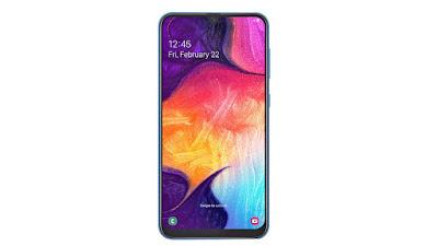 Harga HP Samsung Galaxy A50 Terbaru Dan Spesifikasi Update Hari Ini 2019 | RAM 6GB, Kamera Selfie 25MP