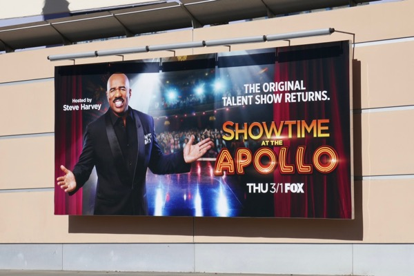 Showtime at the Apollo billboard