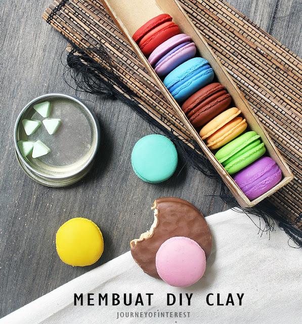 diy clay macaron