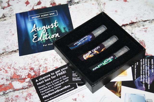 AFTERSHAVE: Secret Scent Box - August 2017