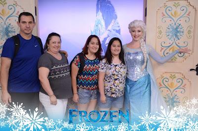 Princesas de Frozen no Epcot