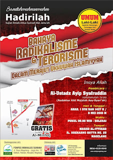 bahaya radikalisme dan terorisme dalam merajut ukhuwah islamiah