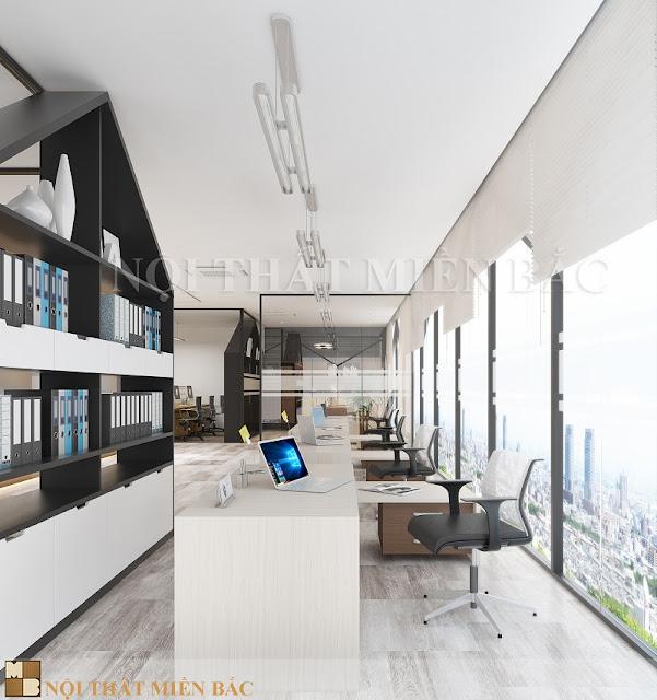 Phong cách thiết kế không gian mở còn tận dụng hiệu quả những sản phẩm nội thất thông minh, hiện đại