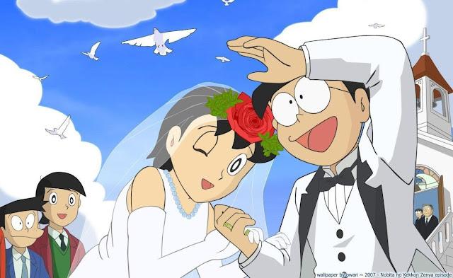 Nobita dan Shizuka