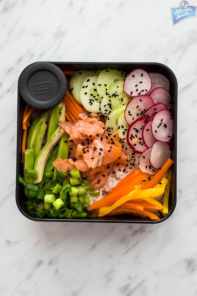 jak zrobić sushi bowl