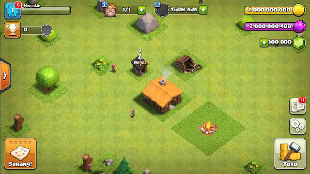 cheat coc unlimited gems tanpa root