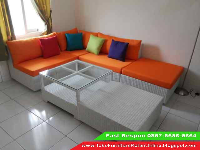 Sofa Minimalis Dari Rotan Toko Murah Ruang Tamu Sintetis Asli