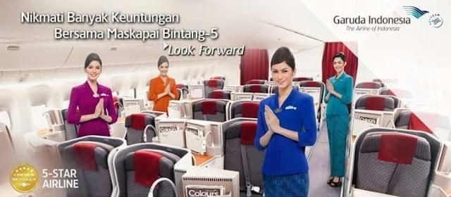 Garuda Indonesia Berikan Diskon Tiket Kepada PNS Kalsel dan Keluarga