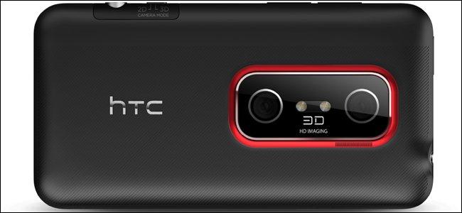 videocamere HTC Evo 3D