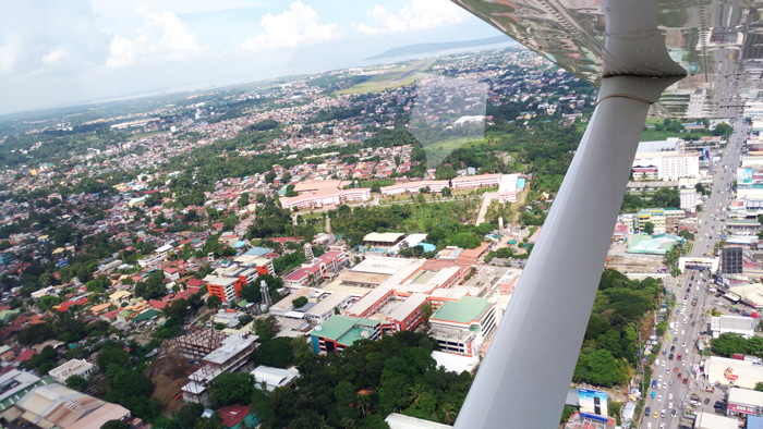 This is Davao City from above.