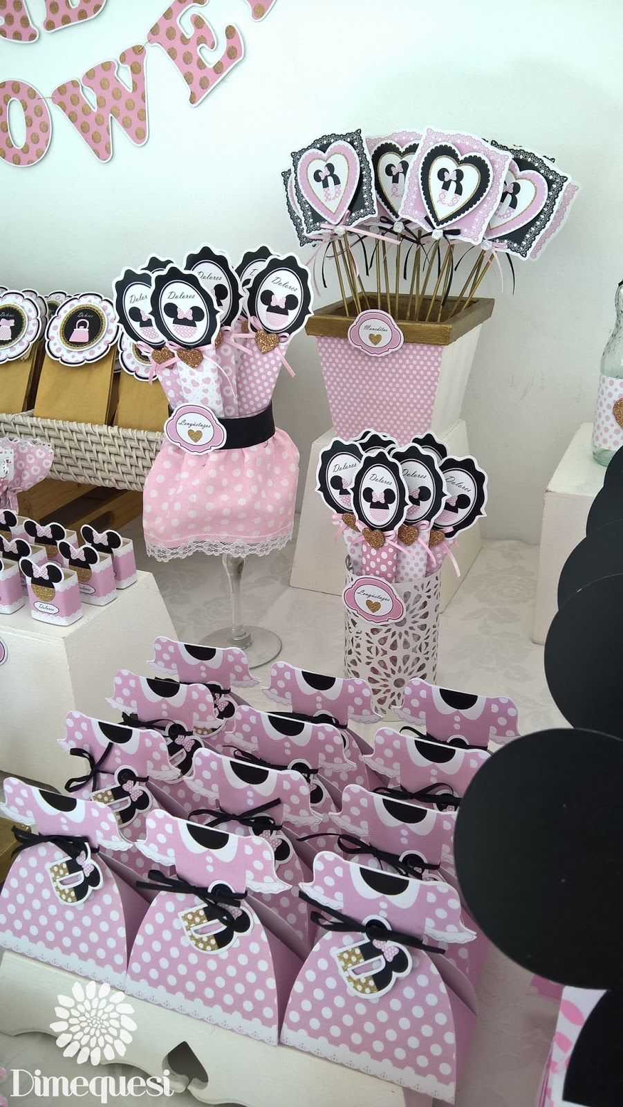 Dimequesi: Minnie Mouse Baby shower