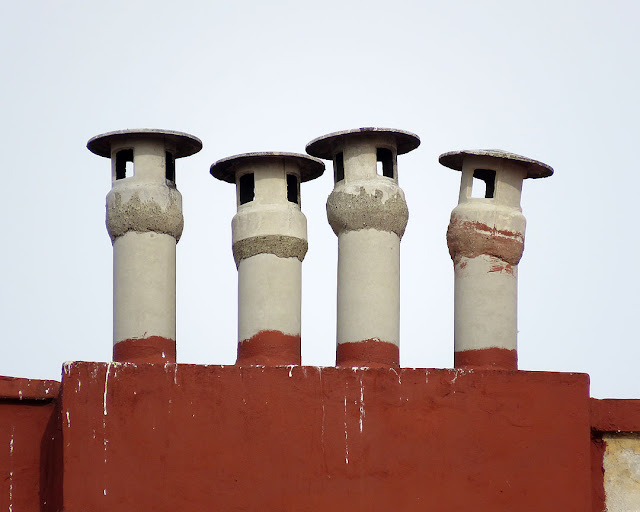 Four chimneys, Via del Fagiano, Livorno