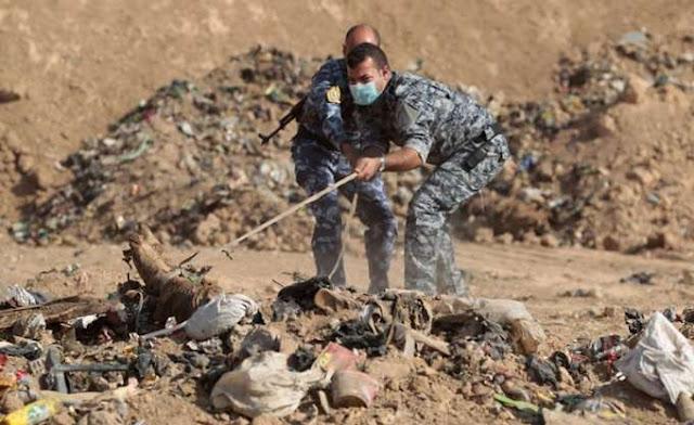 Ιράκ: Βρέθηκε ομαδικός τάφος Γιαζίντι θυμάτων του ΙΚ