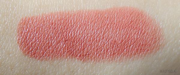 revue avis test laura mercier haute lips full colour swatch creme coral